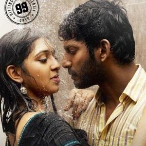 Lakshmi Menon Turns Singer For N.R.Raghunathan - cutmirchi.com Naan Sigappu Manithan Lakshmi Menon Kiss