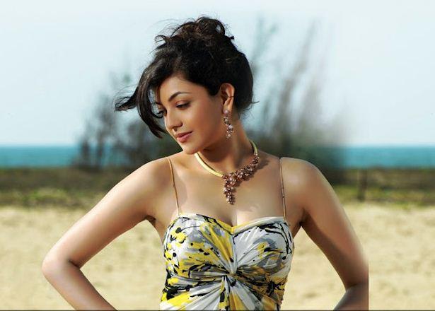 Kajal Agarwal Showing All Her Assets Hottest Song Kajal Agarwal Show Hot Back And Boobs Hot