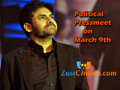 Zustcinema have been updated that Pawan Kalyan will be announcing about his political entry soon. Now here is the latest update that Powerstar