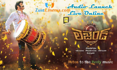 Watch Legend Audio Launch Live Online, Bala Krishna starrer Legend movie audio launch live streaming presented