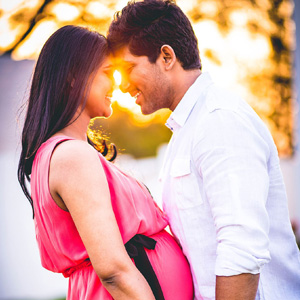 Stylish Star Allu Arjun and Sneha Reddy are going to blessed with baby soon. Allu Arjun has posted a pic of his and Sneha with baby bump has been posted on his official facebook page.