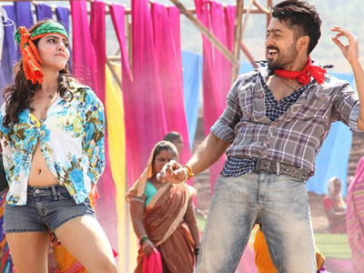 Viewers are aware that Vishal and Lakshmi Menon starred Naan Sigappu Manithan is gearing up for a release on 11th of April and now makers are likely to unveil Suriya's Anjaan firstlook the same day. UTV Motion Pictures, who are the common producers for Naan Sigappu Manithan and Anjaan planning to m