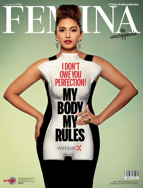 Huma Qureshi On Femina Magazine 2014