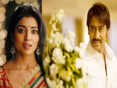 Shriya, Ajay Devgan in Drishyam Hindi Remake