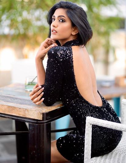 Telugu Girl Looking Hot In Black