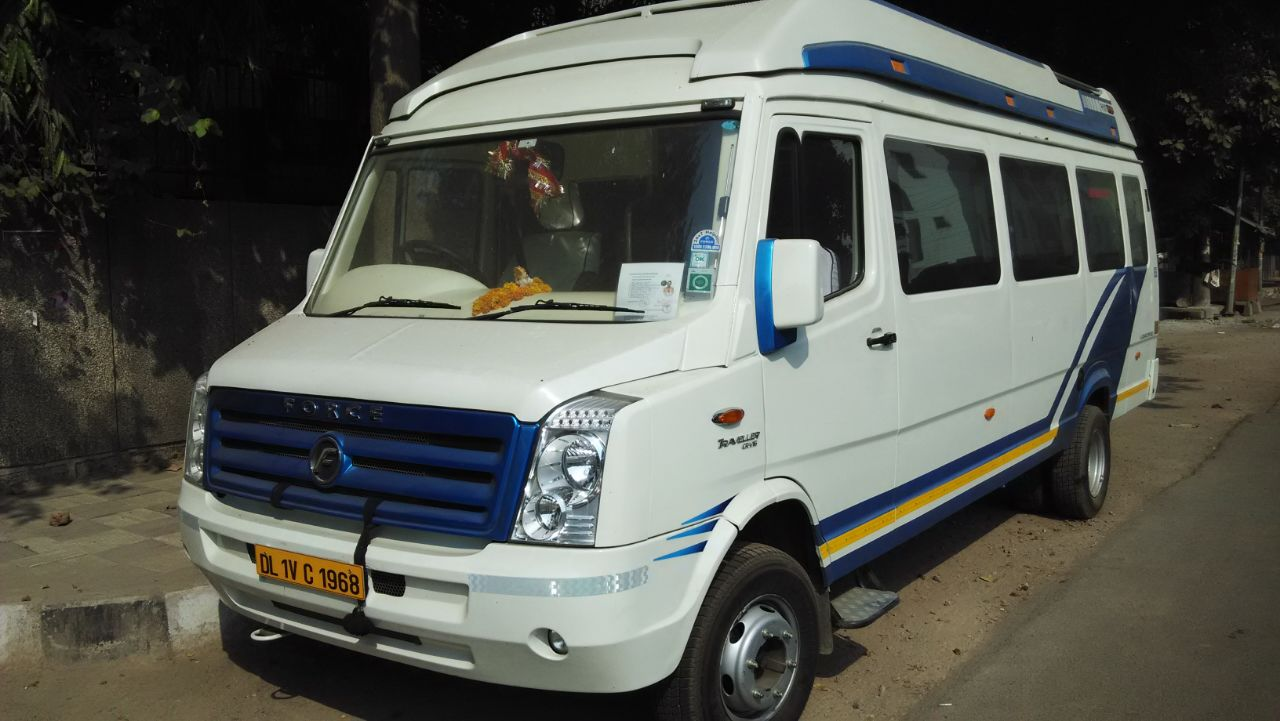 18 Seater Tempo Traveller hire in Delhi. Lowest price and Good Service – Tempo Traveller Hire Delhi