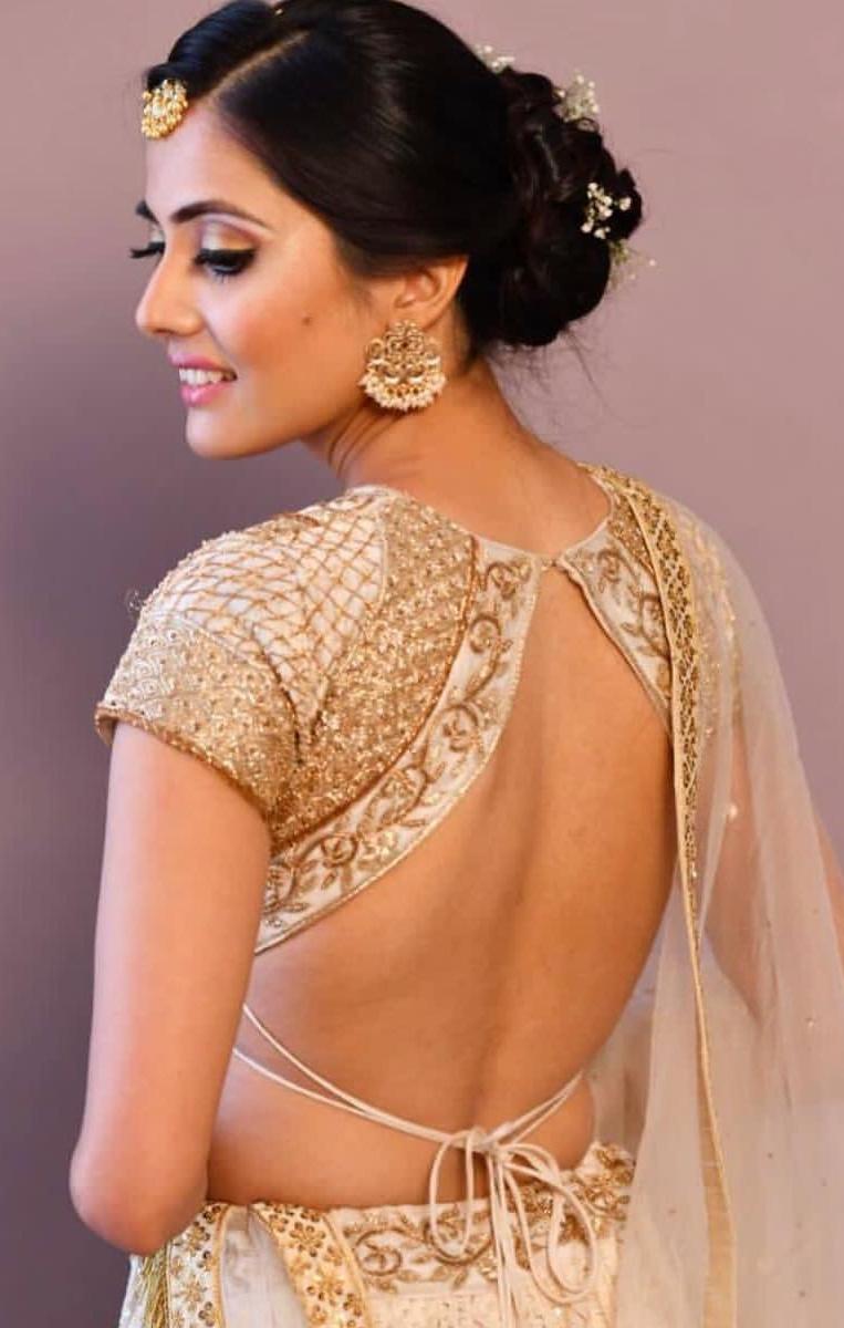 Hottest Backless Poses Of Indian Models | All Indian Models