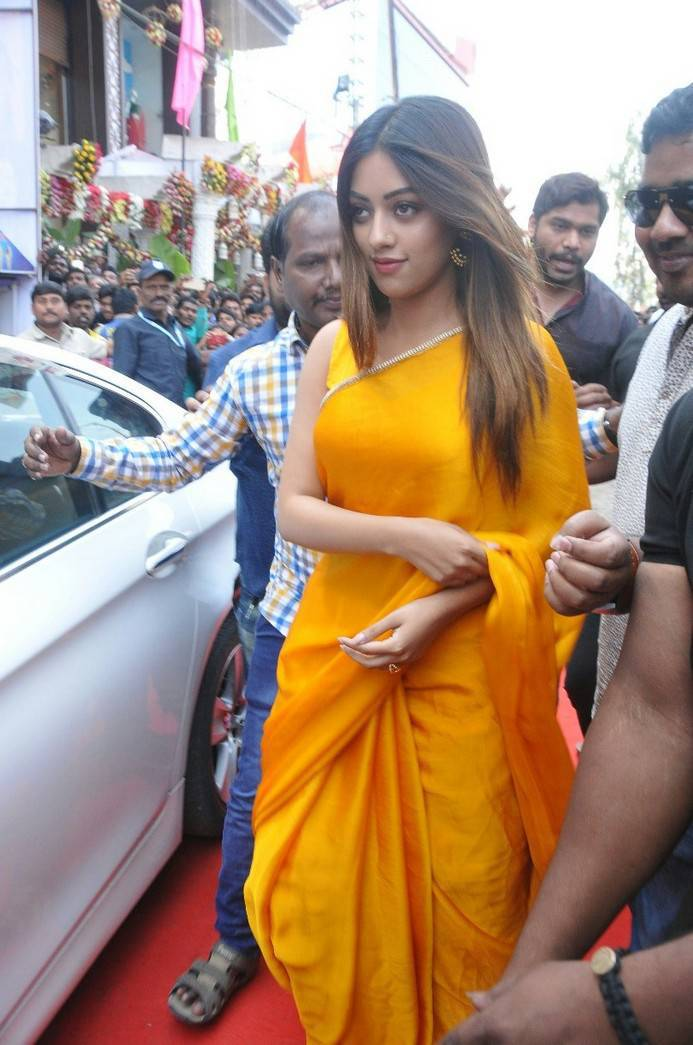 Anu Emmanuel Stills At KLM Fashion Mall Launch At Dilsukhnagar | Indian Girls Villa - Celebs Beauty, Fashion and Entertainment
