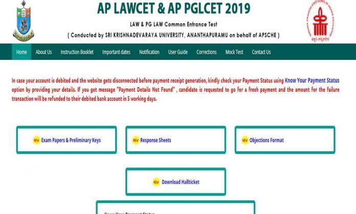 AP LAWCET Results 2019 Released @sche.ap.gov.in , Manabadi.com