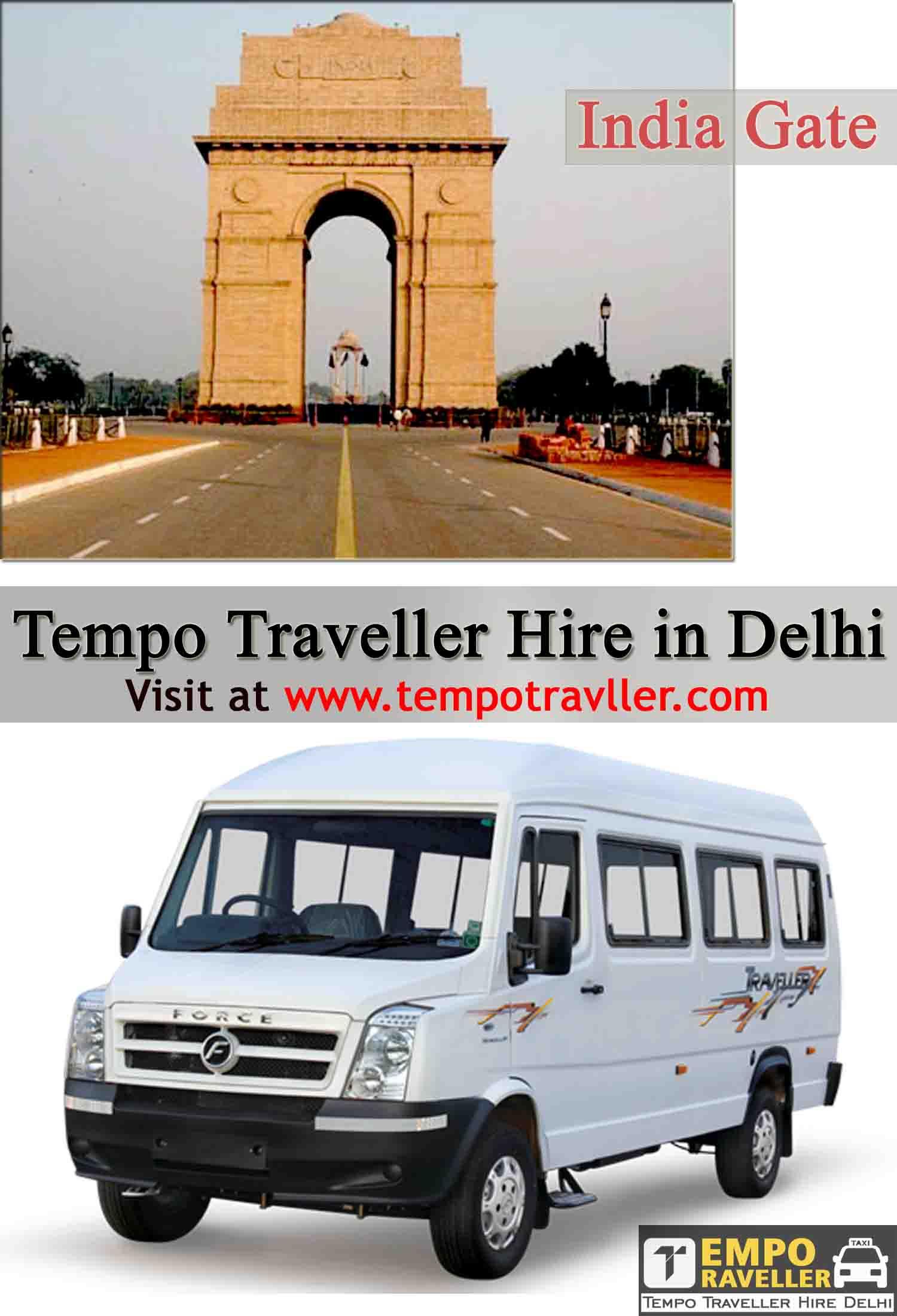 Best Budget Book Tempo Traveller in Delhi
