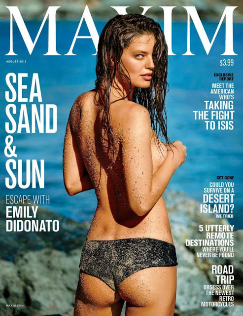 Emily Didonato – Maxim Magazine Photoshoot (August 2015) | Hollywood News Update