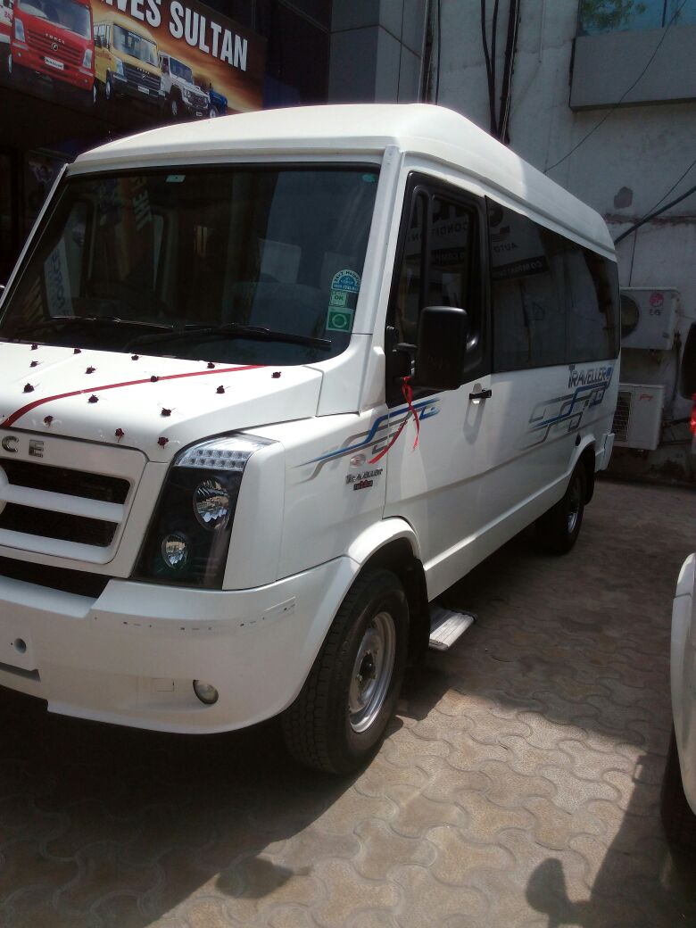 Luxury Tempo Traveller Hire in Delhi to Other States in India