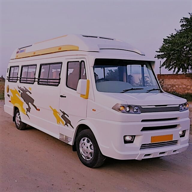 Luxury 12 Seater Tempo Traveller In Delhi - PENTAAZ