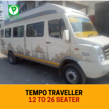 Tempo Traveller Hire on Rent In Delhi with 9,12,16,18,20,26 Seater