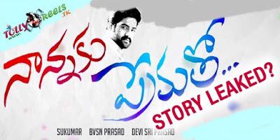 NTR-Sukumar's 'Nannaku Prematho' Movie Story Leaked                  tollyreels
