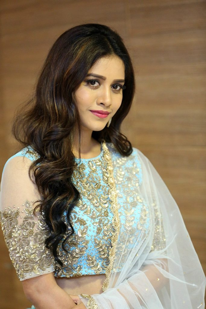 Nabha Natesh Photos at Nannu Dochukunduvate Pre Release -