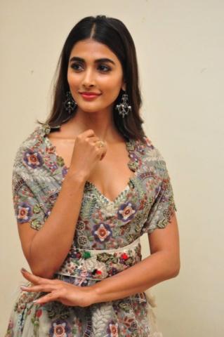 Pooja Hegde Latest Stills at Sakshyam Audio Launch