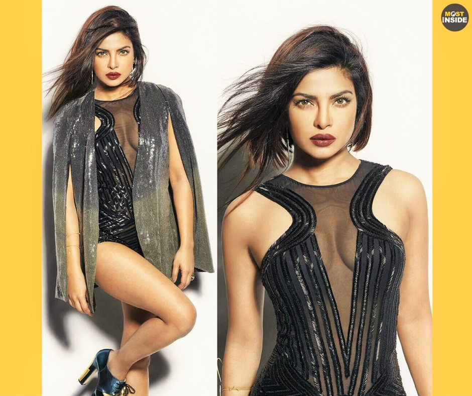 Priyanka Chopra Photoshoot for Harpers Bazaar Magazine 2016
