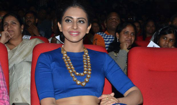 Rakul Preet Singh At Nannaku Prematho Movie Songs Launch Photos        |         Andhra Pulse