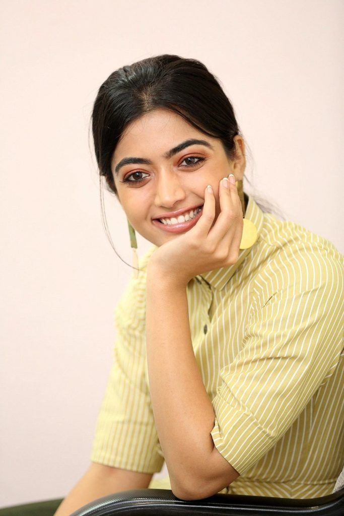 Rashmika Mandanna Photos -Devdas Film Interview - south celebrities