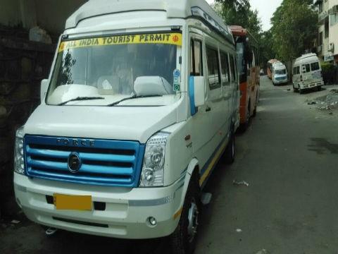 Tempo Traveller on Rent in Delhi