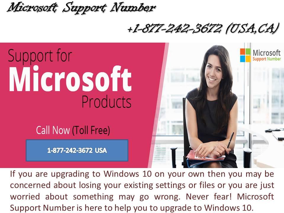 1-877-242-3672 Microsoft Windows 10 update support