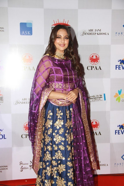 Sonakshi Sinha at Caring With Style Fashion Show   Indian Girls Villa - Celebs Beauty, Fashion and Entertainment