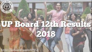 UP Board 12th Result 2018, Uttar Pradesh Intermediate Exam Result 2018