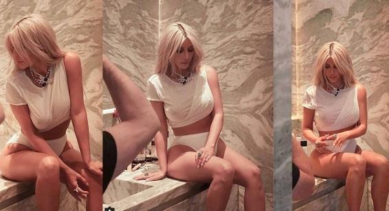 Kim Kardashian for Violet Grey Beauty Photoshoot | World Cine Actress