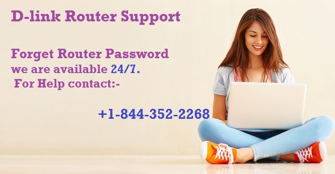 Dlink Router Tech Support +1-844-352-2268