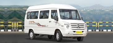 12 Seater Tempo Traveller Hire India