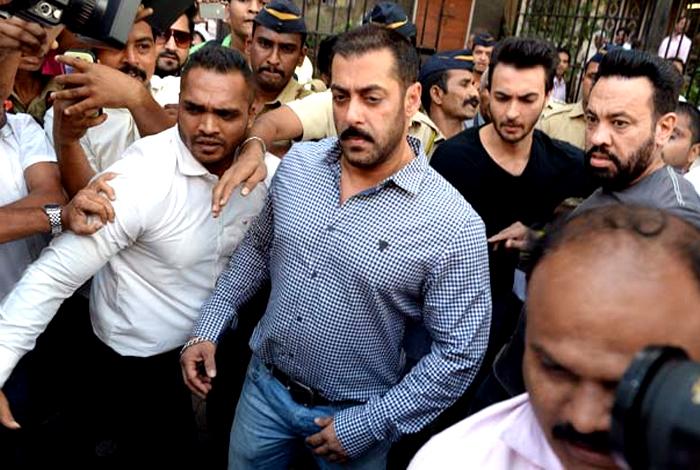Salman Khan Walks Free - YouTube