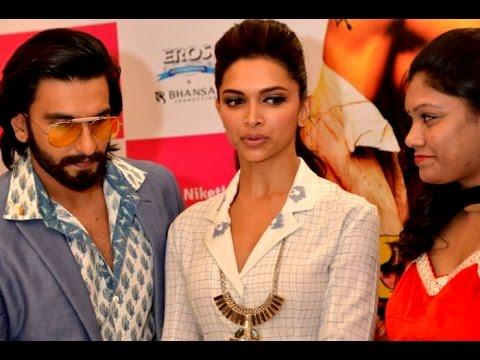 Ranveer Singh's PDA not appreciated by Deepika - YouTube