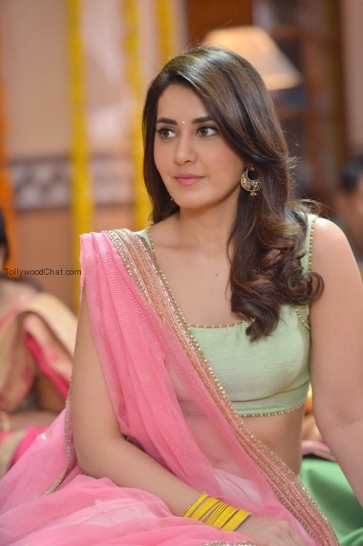 Raashi Khanna In The Movie Jai Lava Kusa - Tollywood Chat