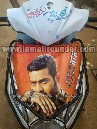 Jr NTR latest hair style with beared Makes Fans Crazy - Nannaku Prematho First Look Poster