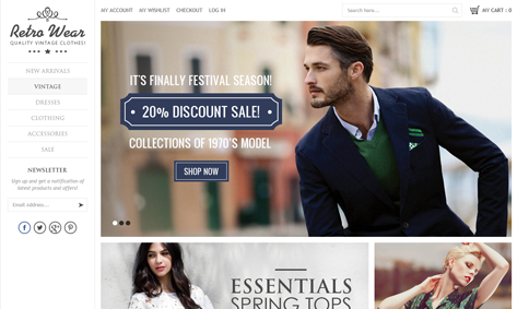 Download Magento Ecommerce Website Templates