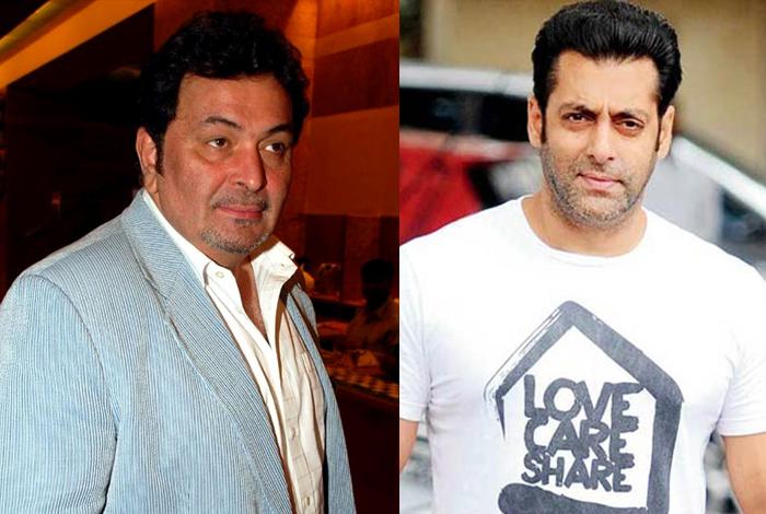 Salman Khan made Rishi Kapoor cry - YouTube