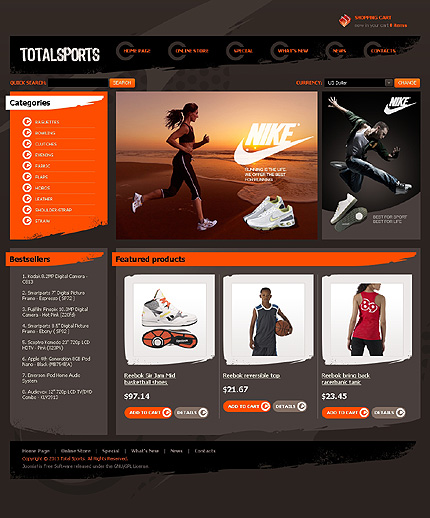 Download Sports Website Templates| Templates Theme