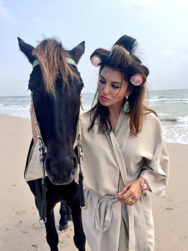 Sunny Leone Photos from Thailand Beach
