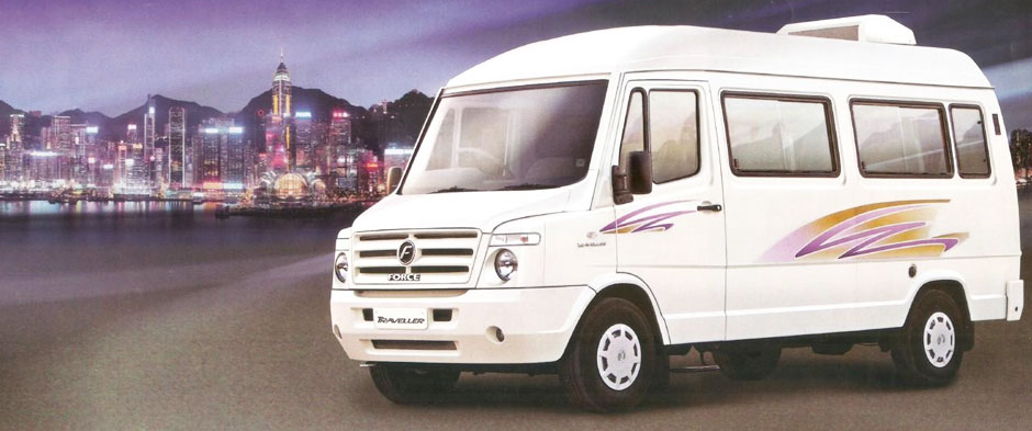 Tempo Traveller Hire in Delhi Best Rate