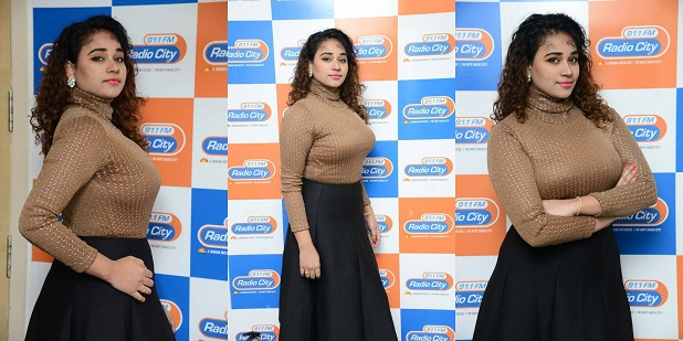 Jayathi Stills At Lacchi Movie 2nd Song Launch At Radio City | | All Indian Models
