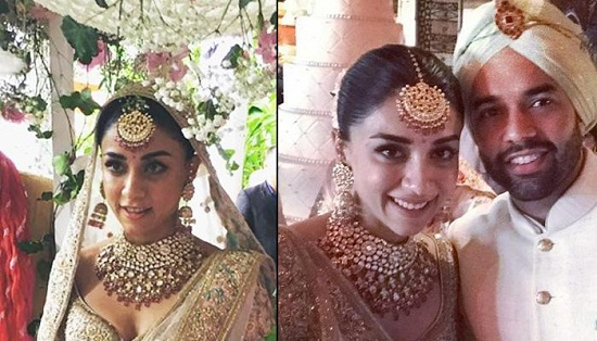 Amrita Looks Amazing In Her Heavy Embellished Bridal Lehenga | All Indian Models