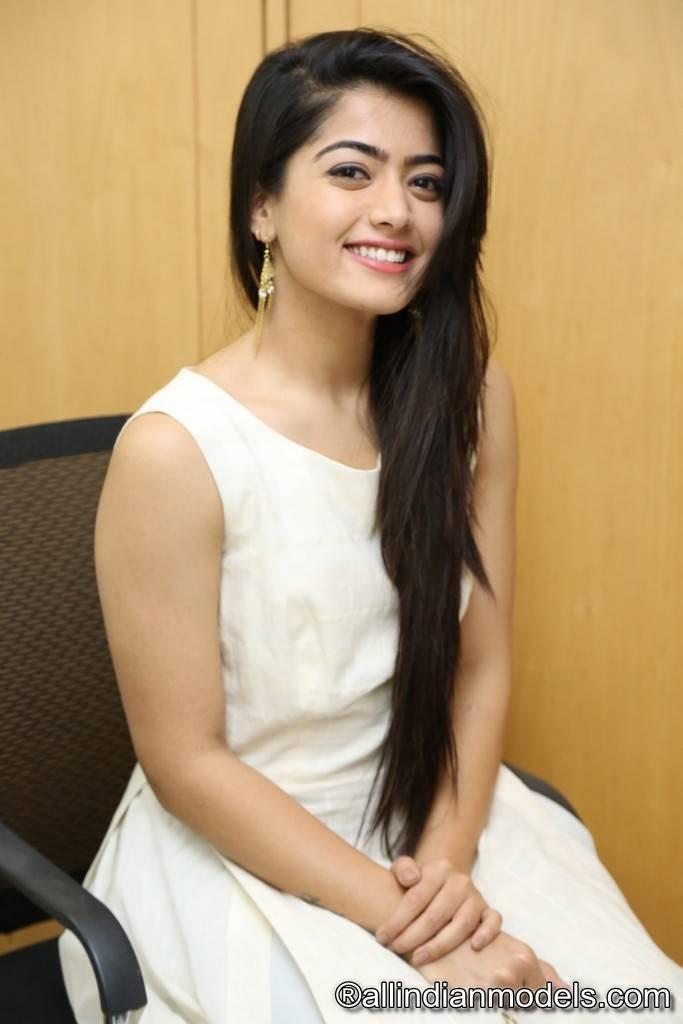 Rashmika Mandanna Stills At Chalo Movie Interview | All Indian Models